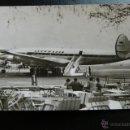 Postales: POSTAL DE AVIONES - AVION - LOCKHEED SUPER G CONSTELLATION LUFTHANSA. Lote 45506185