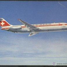 Postales: DC - 9 - 32 - SWISSAIR. Lote 46003157