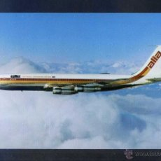 Postales: JORDANIA. THE ROYAL JORDANIAN AIRLINE. *ELLE-ALIA - BOEING 707* NUEVA.. Lote 4591771
