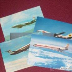 Postales: LOTE DE SEIS POSTALES DE AVIONES TODAS SIN ESCRIBIR. Lote 46737052