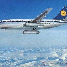 Postales: BOEING 737-LUFTHANSA. Lote 46872966