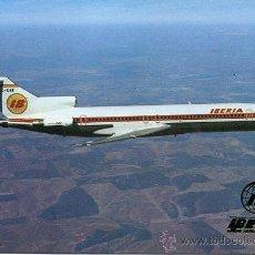 Postales: BOEING 737-256-IBERIA-1973. Lote 46872976