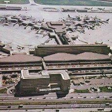 Postales: AEROPUERTO FRANKFURTHOTEL SHERATON-1980. Lote 46873001