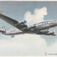Postales: Nº 21089 POSTAL AVION KLM LOCKHEED SUPER CONSTELLATION L-1049 G. Lote 47097844