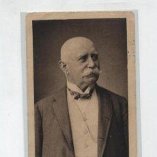 Postales: GRAF ZEPPELIN. POSTAL RETRATO DEL CONDE ZEPPELIN. FRANQUEADO Y FECHADO EN BERLIN EN 1908. CON DES-. Lote 48433221