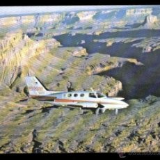 Postales: SCENIC AIRLINES. GRAND CANYON DEL COLORADO. THE MOST BEAUTIFUL SCENIC FLIGHT IN AMERICA......... Lote 48605069