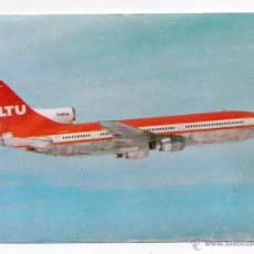 Postales: POSTAL AVIÓN LOCKHEED L-1011 TRISTAR. BONITO FRANQUEO. AÑO 1967.. Lote 48864200