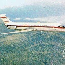 Postales: POSTAL DE AVIÓN DE IBERIA JET DOUGLAS DC -9 SERIE 30. Lote 50158682