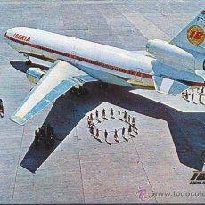 Postales: POSTAL AVION DC-10/30 . Lote 51712890