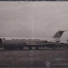 Postales: POSTAL AVION COMPAÑIA TURKISH AIRLINES . Lote 51712982
