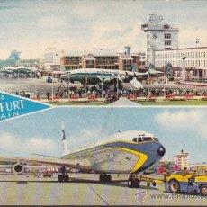 Postales: POSTAL AEROPUERTO FRANKFURT AM MAIN . Lote 51713017