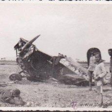 Postales: POSTAL ACCIDENTE DE UN AVION AÑOS 20. Lote 52168297