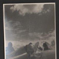Postales: (ALB-TC-8) FOTO TIPO POSTAL ESCUELA DE VUELO SIN MOTOR DE MONFLORITE HUESCA. Lote 52737675