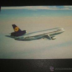 Postales: AVION LUFTHANSA. Lote 52801907