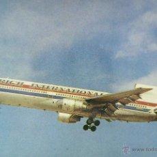 Postcards - POSTAL, TEMA AVIÓN, RICH INTERNATIONAL, LOCKHEED L-1011 TRISTAR 1, SIN CIRCULAR - 52805365