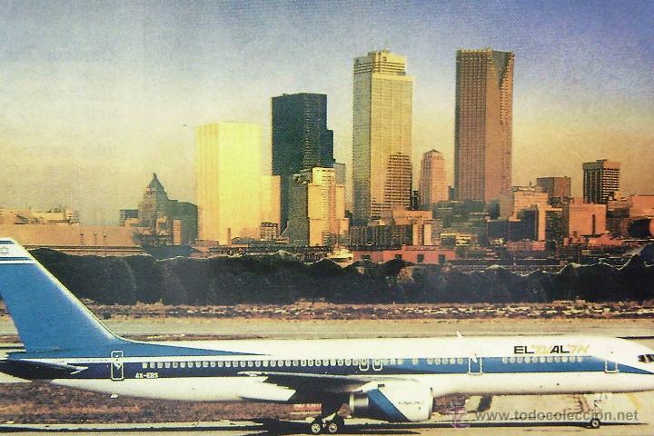 POSTAL, TEMA AVIÓN, EL AL, BOEING 757-200, SIN CIRCULAR (Postales - Postales Temáticas - Aeroplanos, Zeppelines y Globos)