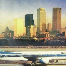 Postales: POSTAL, TEMA AVIÓN, EL AL, BOEING 757-200, SIN CIRCULAR. Lote 237339685