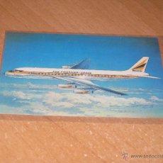 Postales: POSTAL DE AVION DOUGLAS DC8. Lote 53533780