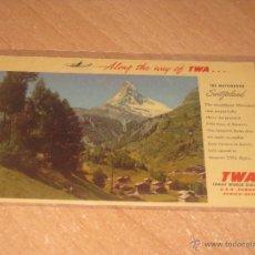 Postales: POSTAL DE LA TWA. Lote 53533919