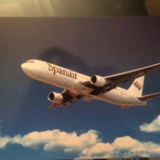 Cartes Postales: POSTAL AVION SPANAIR BOEING 767.300. Lote 53833187