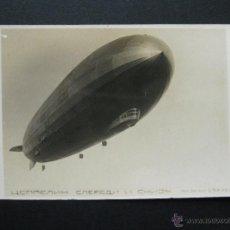 Postales: GRAF ZEPPELIN LZ 127, DIRIGIBLE ALEMAN. AÑO 1928. NOMBRE POR FERDINAND VON ZEPPELIN. VER DESCRIPCION. Lote 53974908