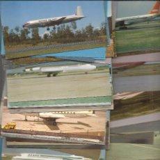 Postales: 100 POSTALES NUEVAS DE AVIONES. MARY JAYNE'S RAILROAD SPECIALITIES INC.. Lote 54160847