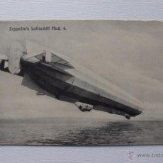 Postcards - Zeppelin's Luftschiff, Dirigible Zepelin alemán, aerostatico. Rara postal antigua. - 54315088