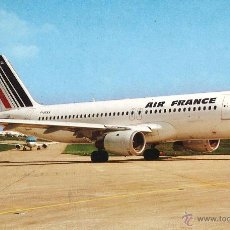 Postales: AIRBUS A-320 DE AIR FRANCE. Lote 54419019