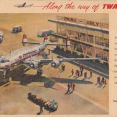 Postales: P- 4751. POSTAL TWA TRANS WORLD AIRLINES.. Lote 55229977