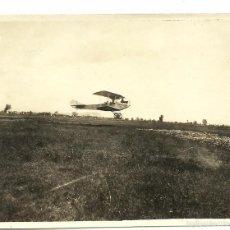 Postales: (PS-48174)FOTOGRAFIA DE CAMP D´AVIACIO CANUDAS AÑO 1923. Lote 55993908