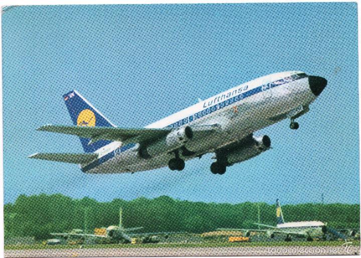 POSTAL DE AVIÓN, BOEING 737 (Postales - Postales Temáticas - Aeroplanos, Zeppelines y Globos)