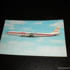 Postales: POSTAL IBERIA DOUGLAS DC-8 TURBOFAN / 1965 / RIEUSSET. Lote 56819761