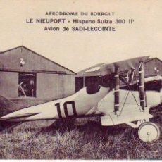 le nieuport - hispano suiza 300 hp. avion de sadi-lecointe