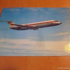 Postales: IBERIA. DOUGLAS DC-9.. Lote 57448487
