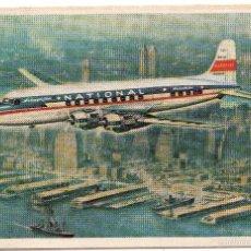 Postales: POSTAL AVIÓN AIRLINE OF THE STAR - NATIONAL. Lote 58159716
