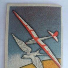 Postales: POSTAL, VUELOS SIN MOTOR, DIRECCION GENERAL DE AVIACION CIVIL, MINISTERIO DEL AIRE, CIRCULADA, 1942. Lote 58653849