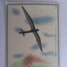 Postales: POSTAL, VUELOS SIN MOTOR, DIRECCION GENERAL DE AVIACION CIVIL, MINISTERIO DEL AIRE, CIRCULADA, 1942. Lote 58654085
