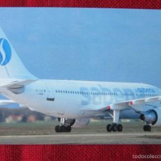 Postales: AIRBUS A310 SABENA. Lote 58690854
