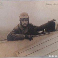 Postales: ANTIGUA POSTAL FOTOGRÁFICA - AVIADOR - TIXIER (BLERIOT - GROME) - AÑO 1912. Lote 61528683