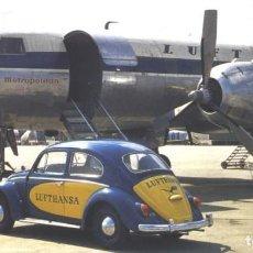 Postales: LUFTHANSA - INAGURA RUTA BARCELONA Y FRANKFURT. 1959-1999. Lote 62142848