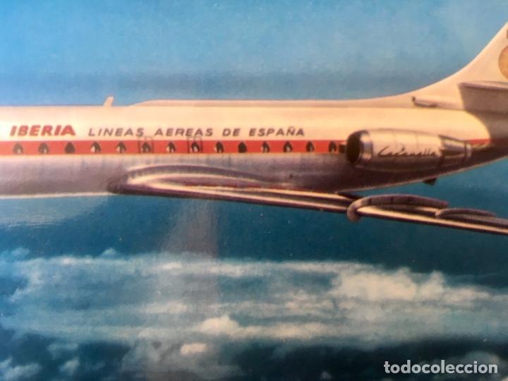 Postales: Iberia caravelle C-R ex- BIE foto postal - Foto 4 - 64460047