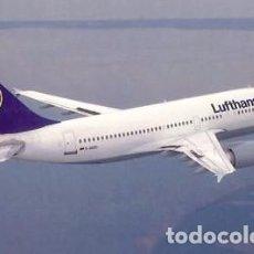 Postales: AIRBUS A 310-300 DE LUFTHANSA. Lote 64808623