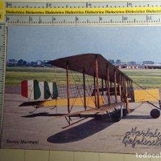 Postales: POSTAL DE AVIACIÓN, AVIONES, AEROPUERTOS, AERONAÚTICA. AVIÓN SAVOIA MARCHETTI. 128. Lote 68083961