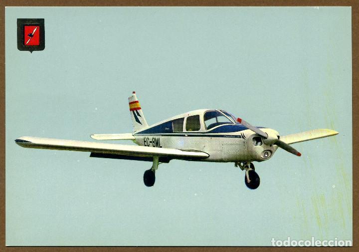 POSTAL AVIONETAS DEPORTIVAS - REAL AERO CLUB SABADELL (Postales - Postales Temáticas - Aeroplanos, Zeppelines y Globos)