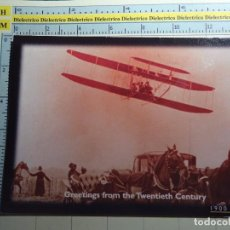 Postcards - POSTAL DE AVIACIÓN AERONÁUTICA AVIONES. AVIÓN DE WILBUR WRIGHT EN FRANCIA 1909. 296 - 68784817