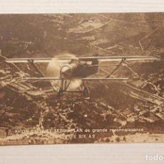 Postales: POSTAL AVIÓN BREGUET SESQUIPLAN DE GRAN RECONOCIMIENTO, TIPO XIX A2. Lote 69602445