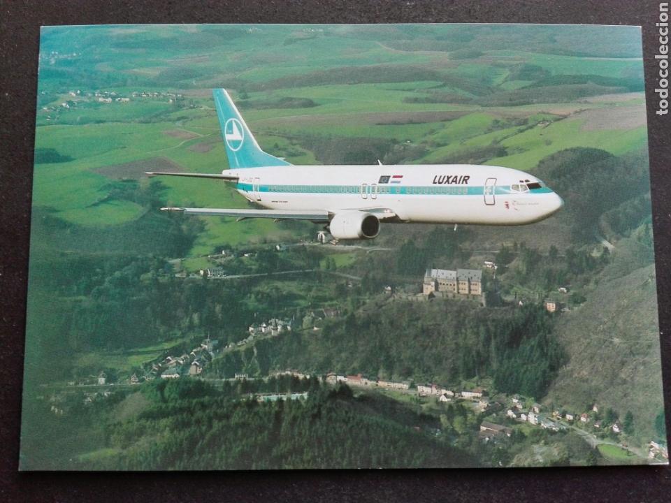 LUSXAIR (Postales - Postales Temáticas - Aeroplanos, Zeppelines y Globos)