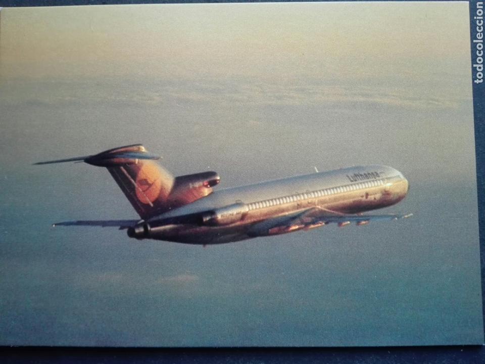 LUFTHANSA (Postales - Postales Temáticas - Aeroplanos, Zeppelines y Globos)