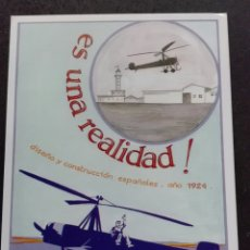 Postales: AUTOGIRO. Lote 114265944