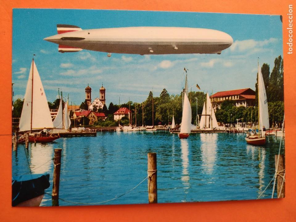 POSTAL ZEPPELIN - A. SCHREIER - NO CIRCULADA (Postales - Postales Temáticas - Aeroplanos, Zeppelines y Globos)